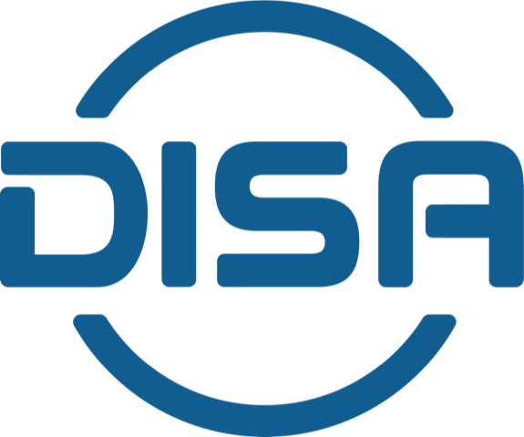 This image has an empty alt attribute; its file name is thumbnail_DISA-Logo.png